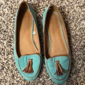 Merona Teal Loafers